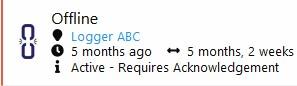Clever Logger Offline Location Alarm
