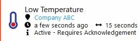 Clever Logger Low Temperature Alarm
