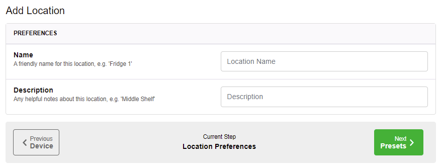 Clever Logger add location