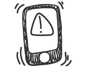 Clever Logger Phone Alarm