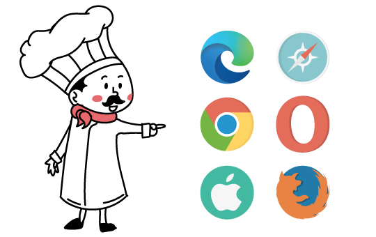 Clever Logger works with any browser